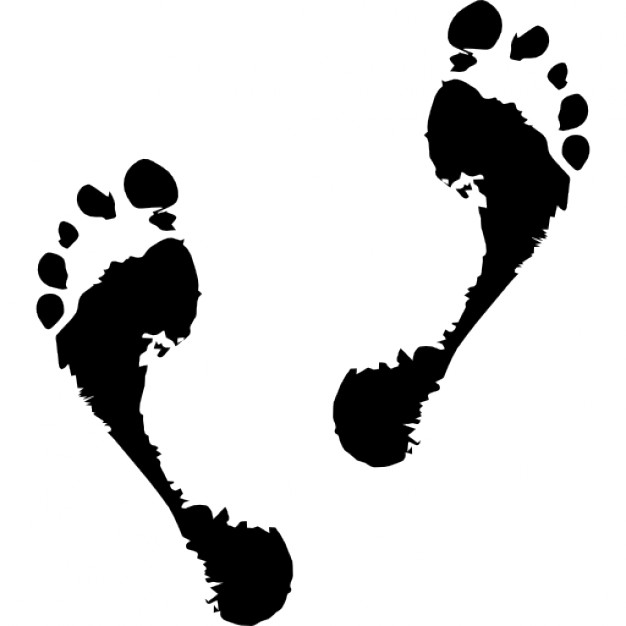 Footprint Feet Vectors, Photos and PSD files | Free Download