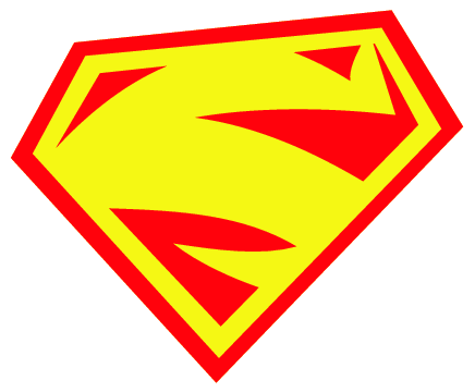 Superman Symbol With Different Letters