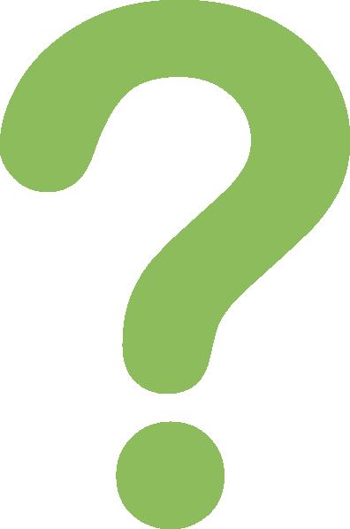 Green Question Mark - ClipArt Best