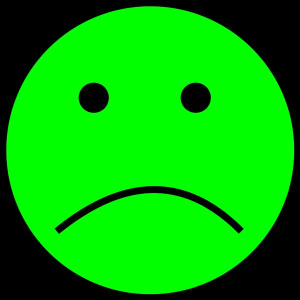 green sad face clipart best clip art sad face with tears clip art saddles