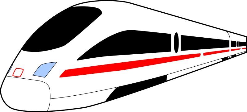 Free ICE Train Clip Art