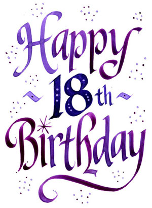 18th birthday graphics - ClipArt Best - ClipArt Best