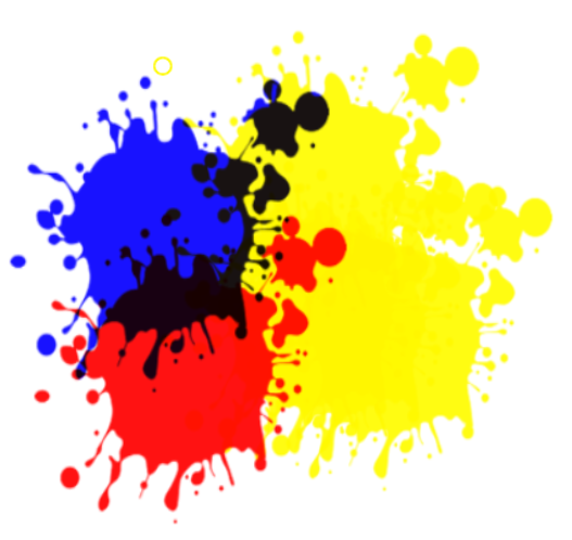 Yellow Splatter Png Paint Splatter Png