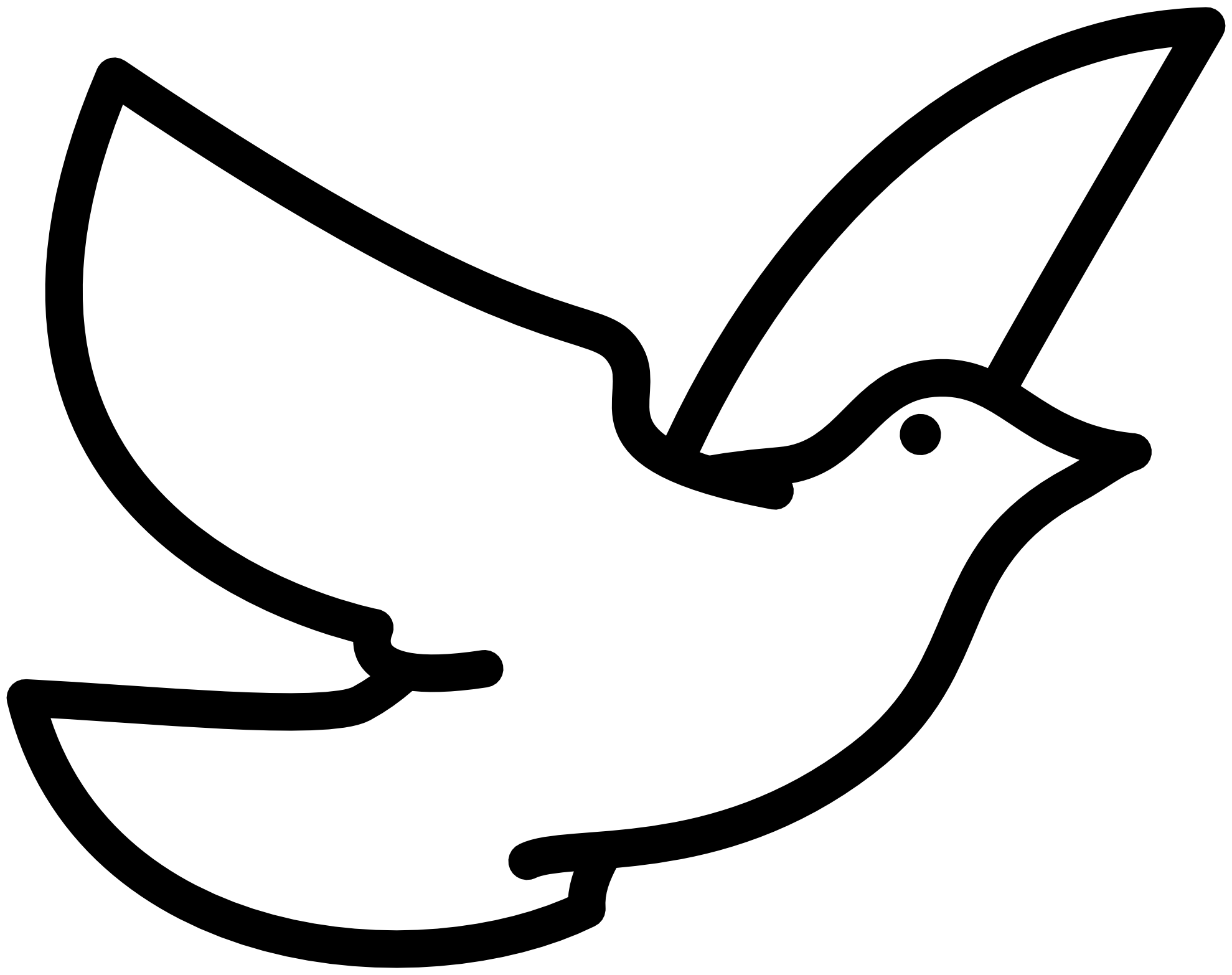 Peace Sign Dove - ClipArt Best