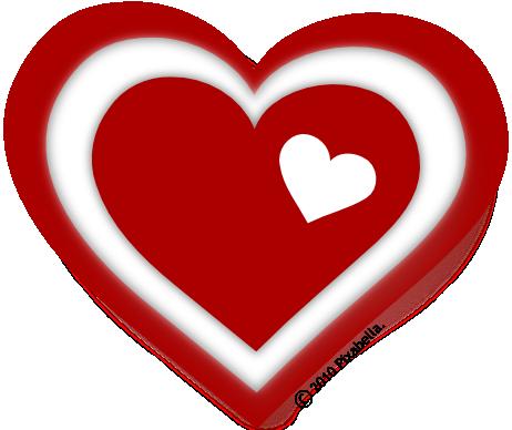 Valentine Hearts Clip Art | Free Clip Art from Pixabella