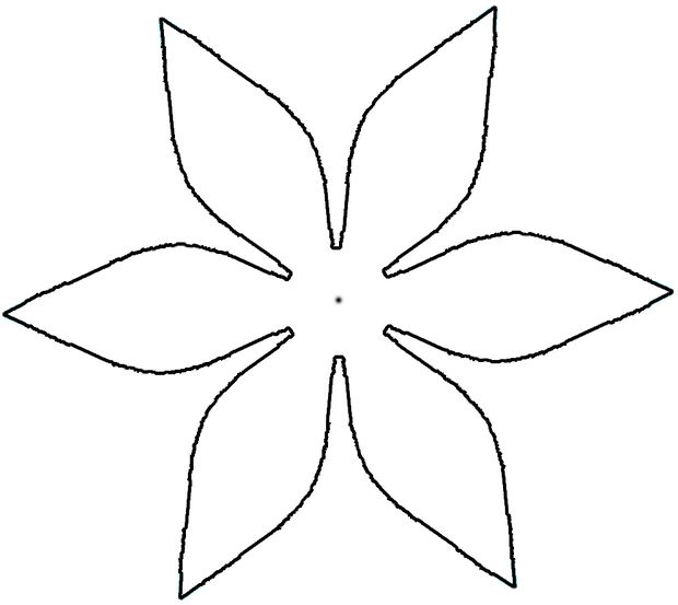 Flower patterns to cut out paper - photo#2
