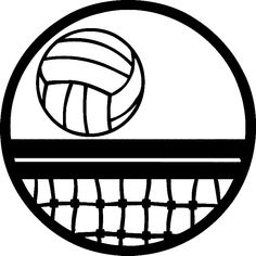 Volleyball Net Art - ClipArt Best