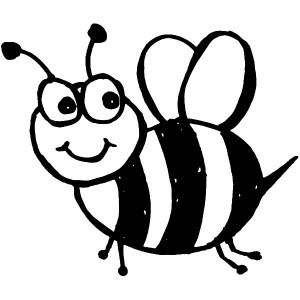 Bee Coloring Sheets Honey Bee Coloring Pages For Kids Coloring Clipart Best Clipart Best