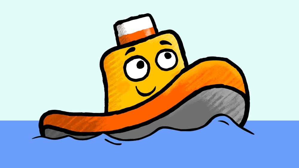 tugboat clipart clipart best Tugboat SVG Tugboat Drawing