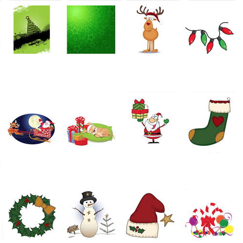 Christmas Card Clip Art Free - ClipArt Best