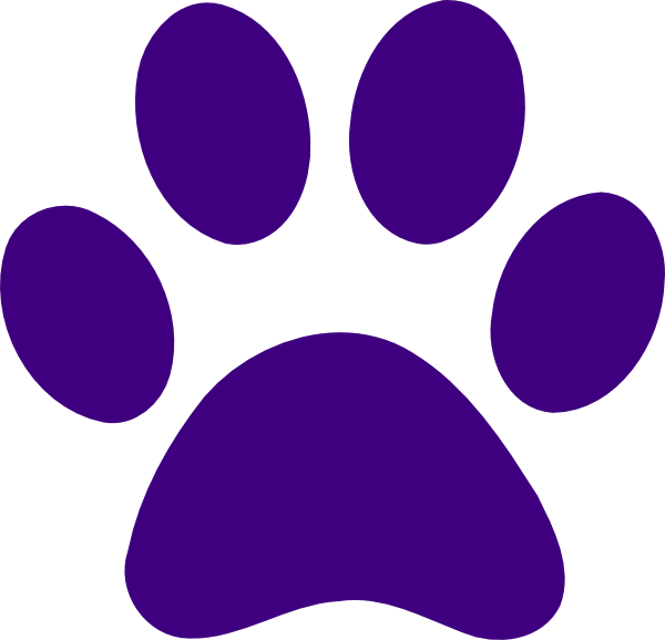 Cat Paw Coloring Page Paw Print Coloring Page