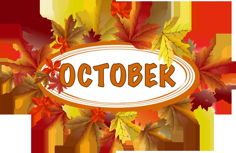 Calendar October 2017 Png