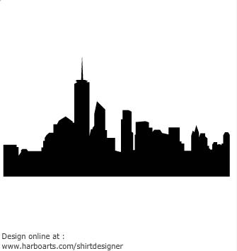 Skyline Vector - ClipArt Best