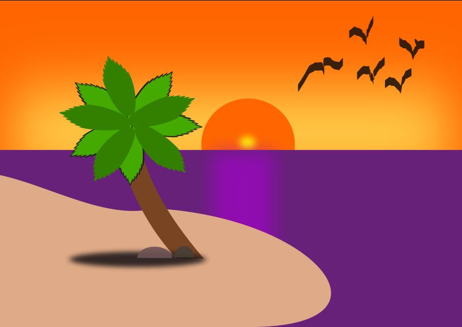 Beach cartoons large 900pixel clipart, Beach cartoons design ...