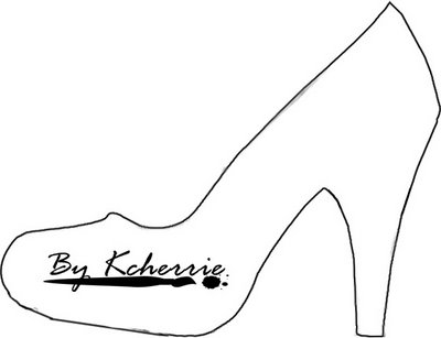 high heel template for cards - high heel shoe template clipart best