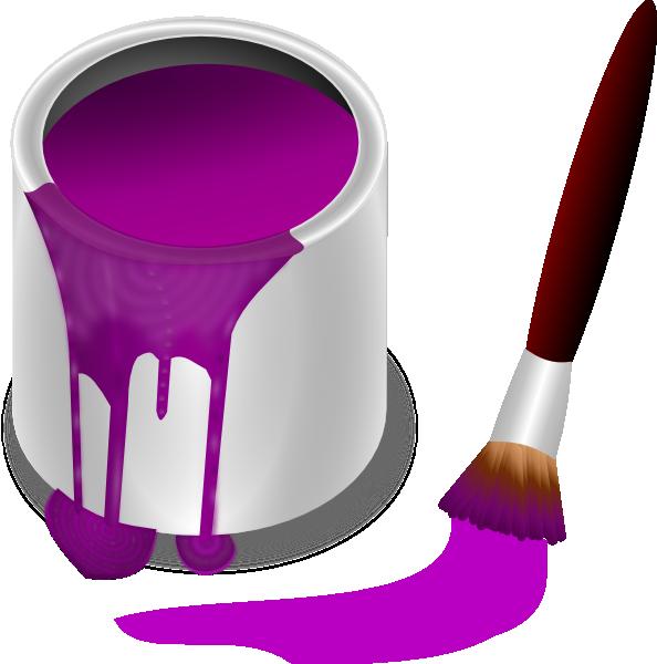purple paint splatter clipart best