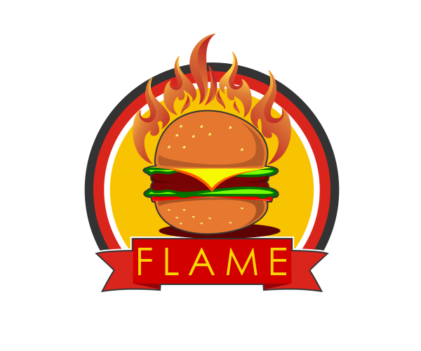 73+ Cool Burger Logo Design Inspiration 2016/17