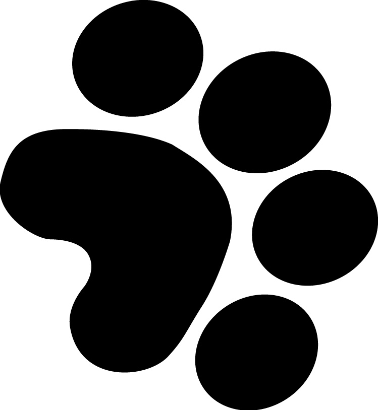 Clipart Dog Paw Prints Welcome To Boxfont Com