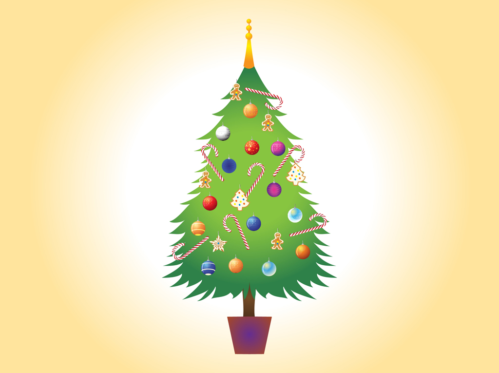 Christmas Tree Vector Image - ClipArt Best - ClipArt Best