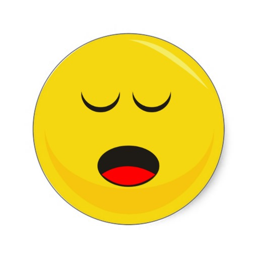Sleeping Smiley Face - ClipArt Best