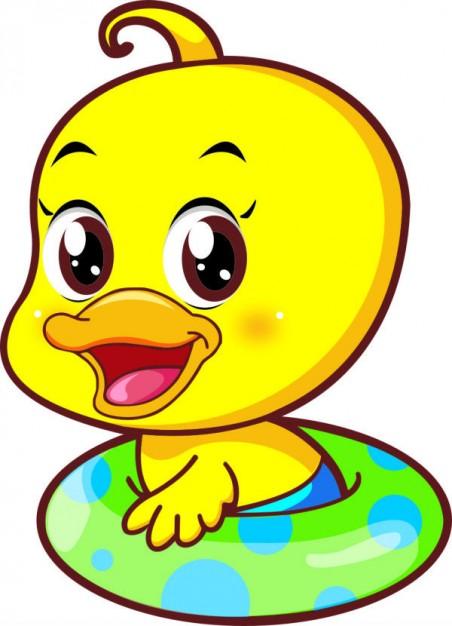 Clip Art Yellow Duck