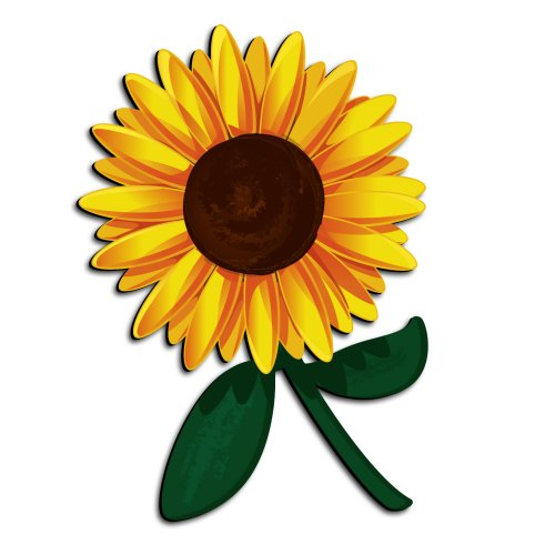 zwalls store zwalls small sunflower 3d cartoon wall