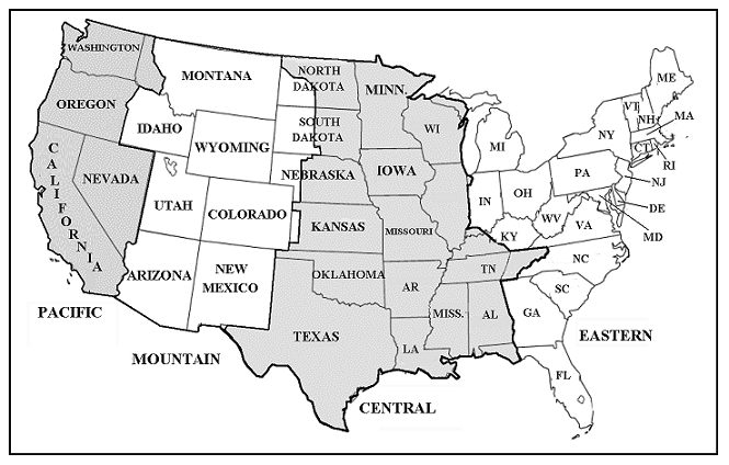 46 printable us time zones map . Free cliparts that you can download ...