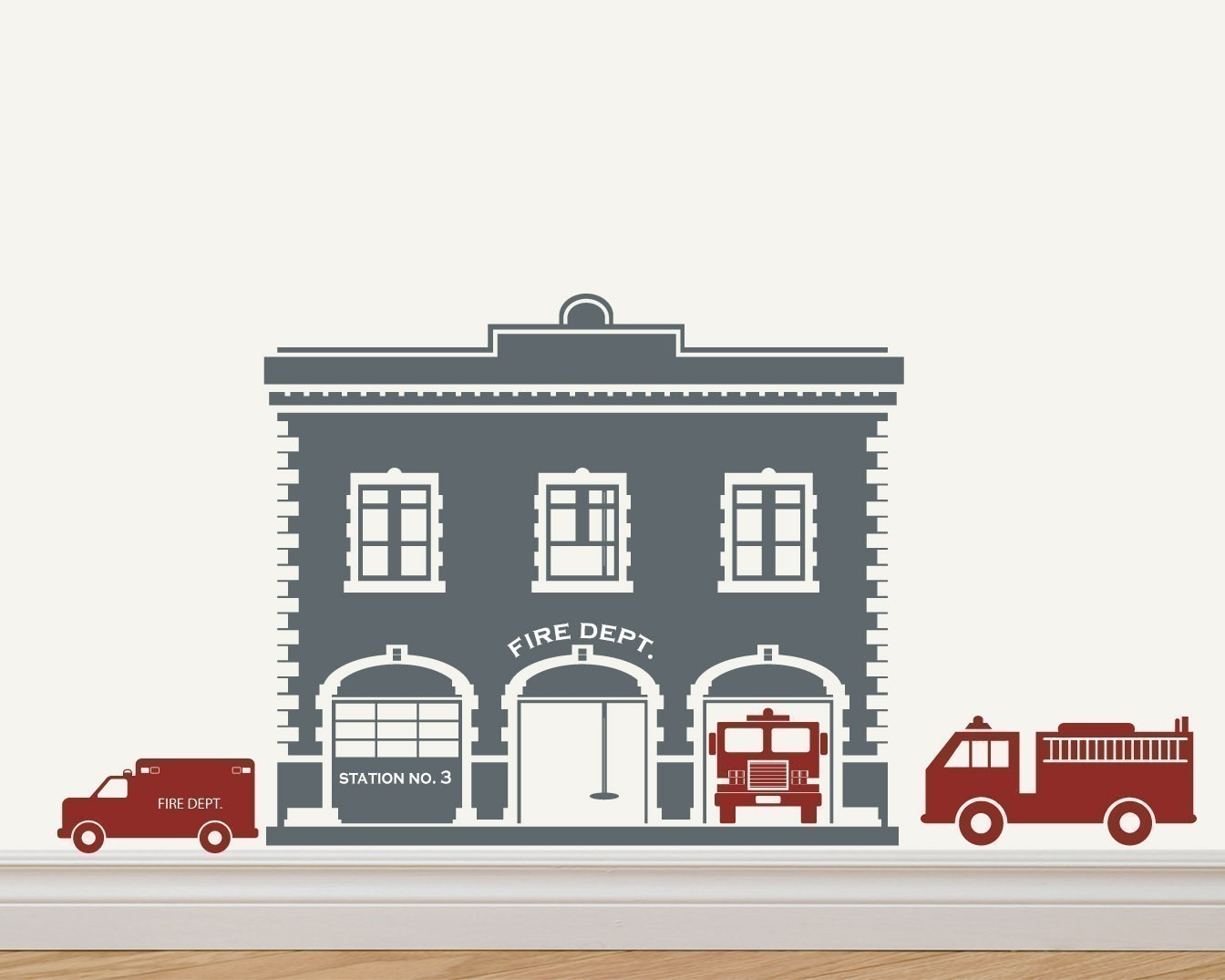 clip art of fire station - photo #27