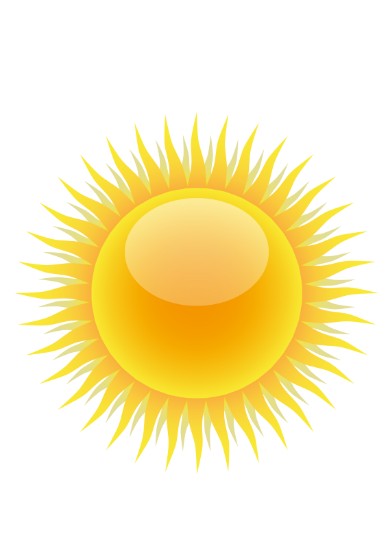 sunny clipart best the sun clip art template pictures of the sun clipart