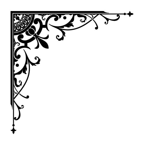corner designs borders clipart best