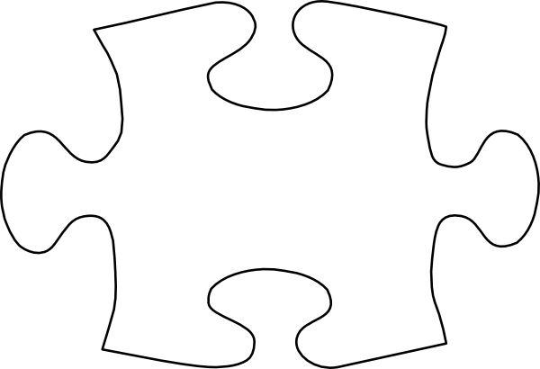 Autism Puzzle Piece Cut Out Clipart Best
