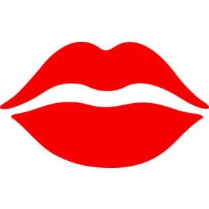 Clip art red lips