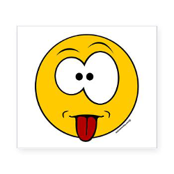 Smiley Face With Tongue Out Clipart