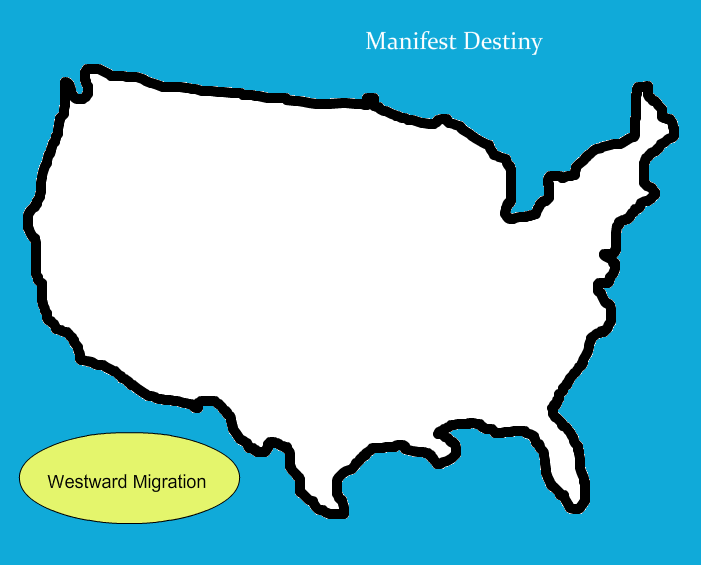 Outline Of The United States ClipArt