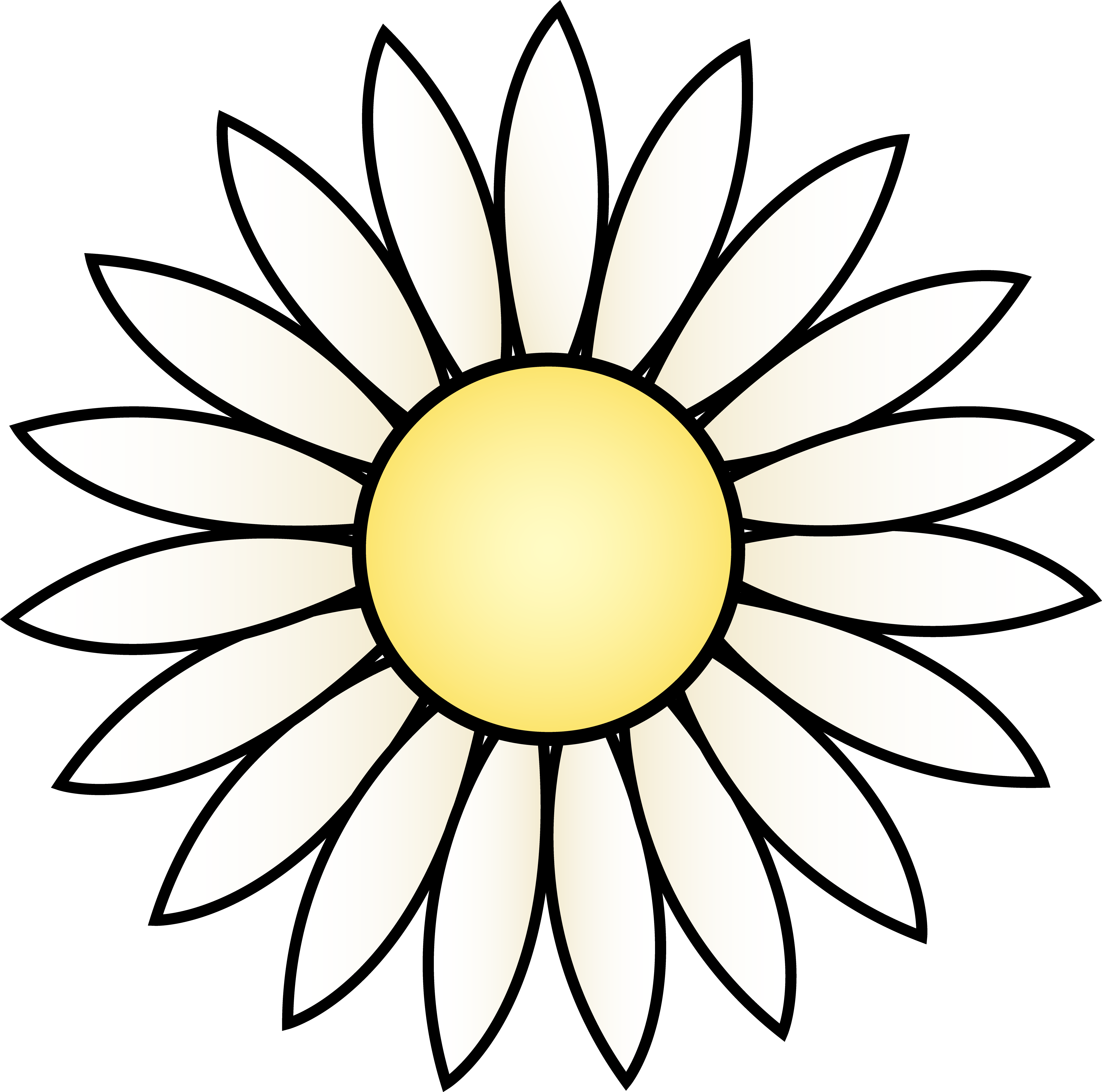 Daisy Flower Template