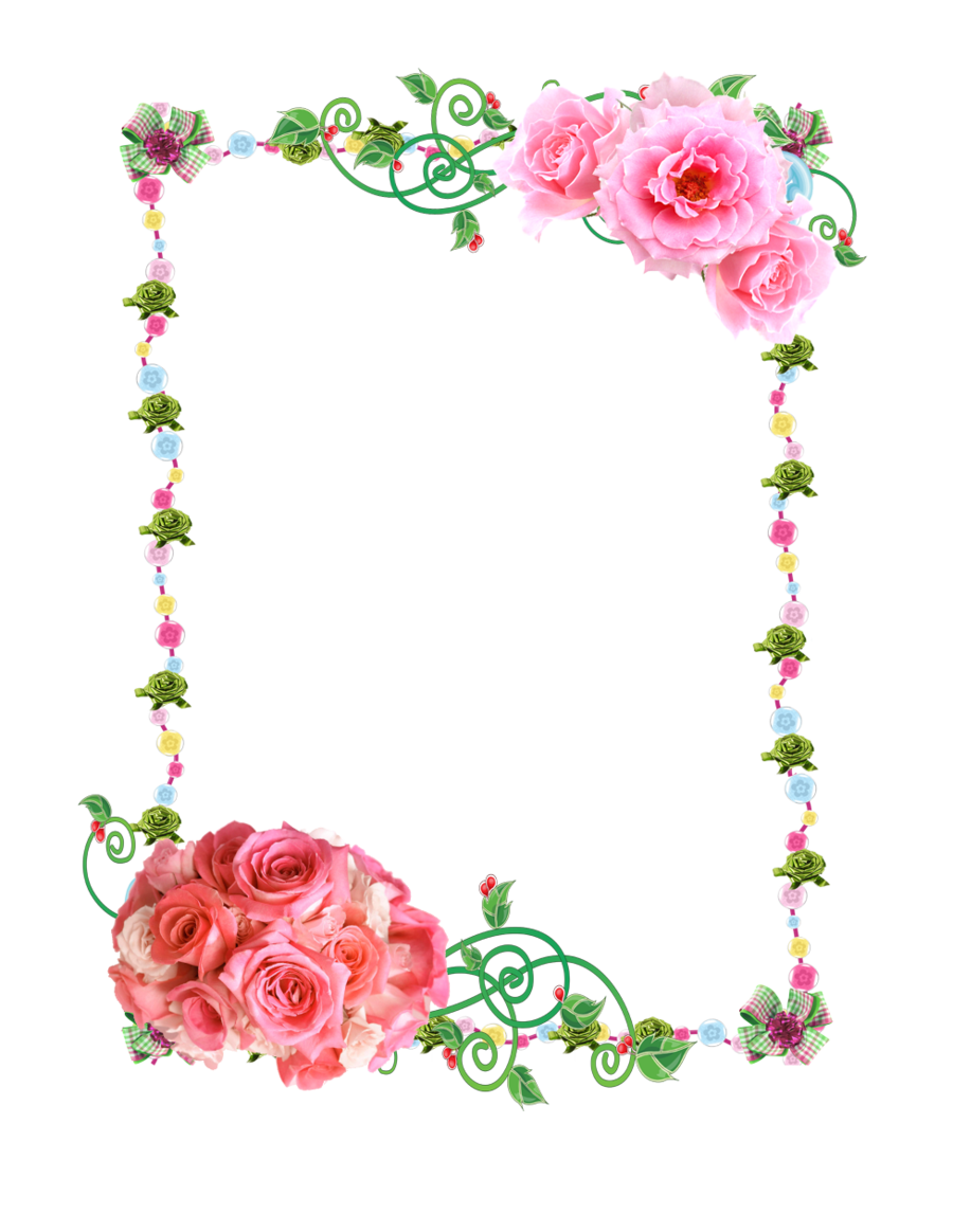 DeviantArt: More Artists Like Frame PNG with roses by Melissa-tm