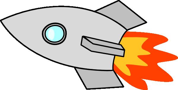 free cartoon rocket ship clip art - photo #37