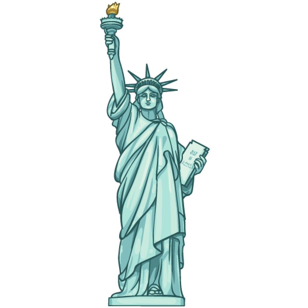 Liberty Statue Png - ClipArt Best