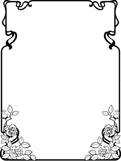 Border designs free black white clipart best - Any design using black and white ...