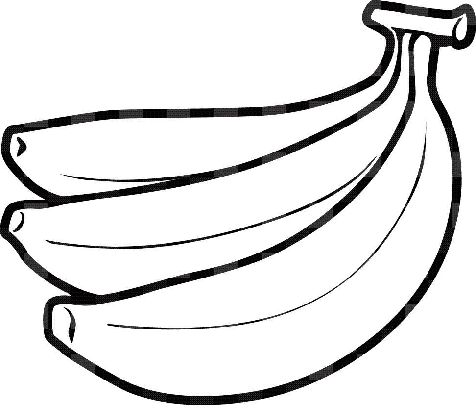 bananas drawing clipart best