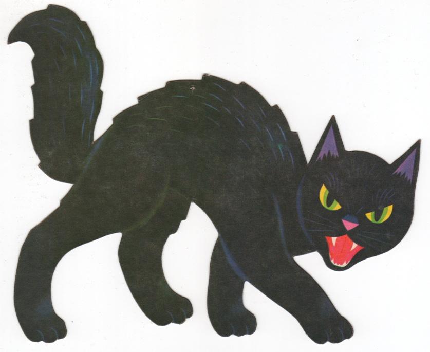 clipart halloween cat - photo #33