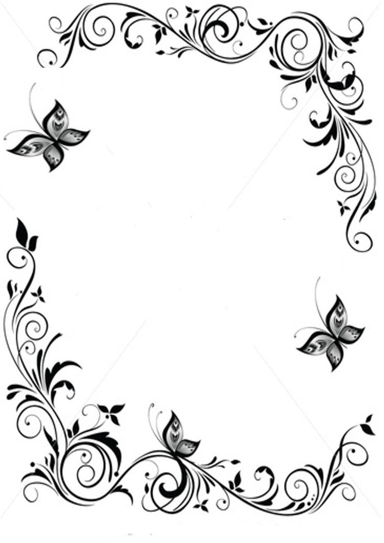 page border coloring pages - photo #32