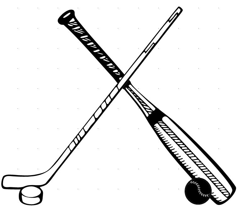 44 hockey sticks crossed . Free cliparts that you can download to you ...