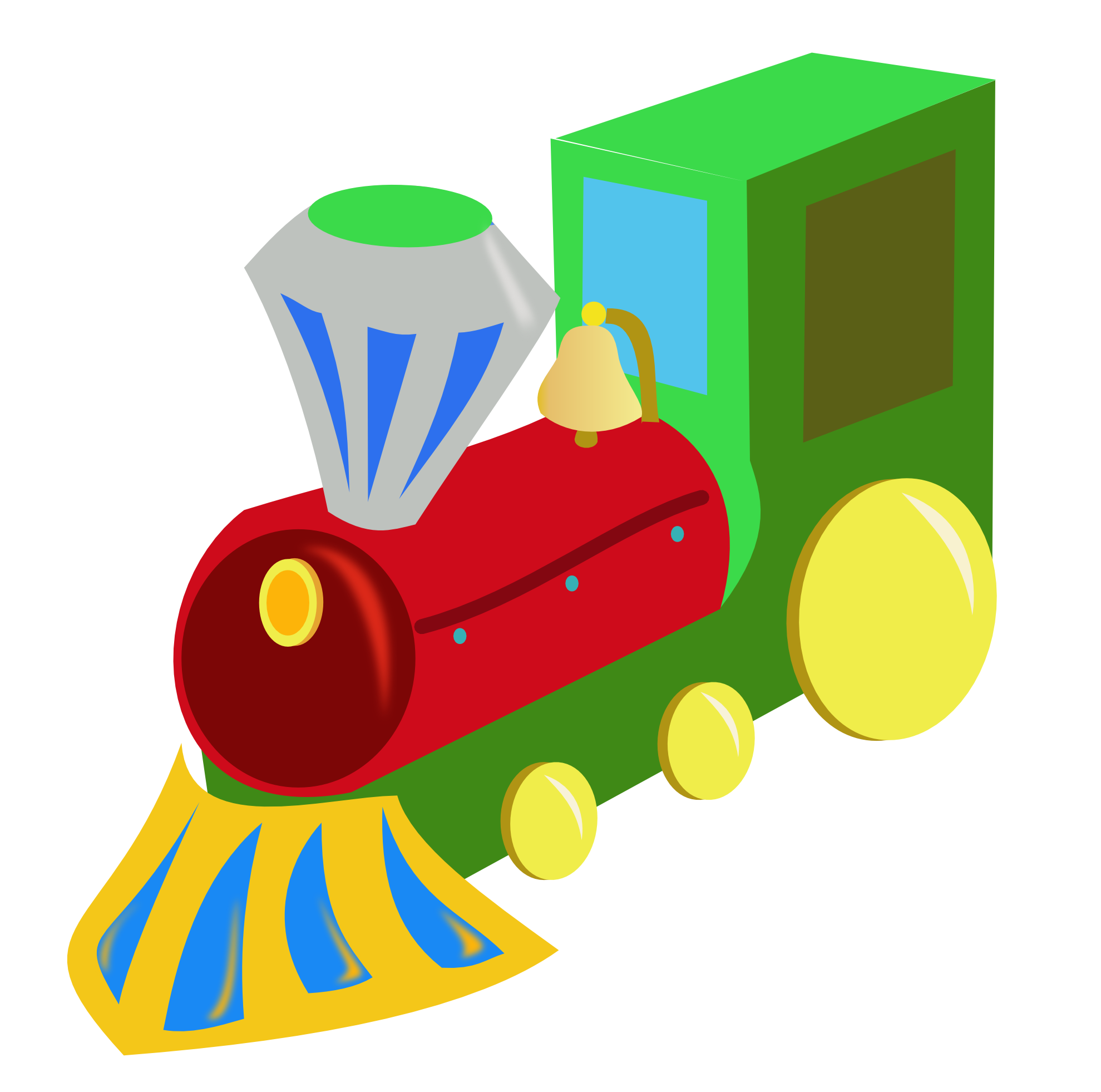 Clip Art: tren train super duper SVG