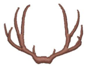 Deer antlers clipart - photo#21