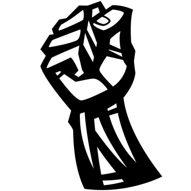 12 black fist symbol free cliparts that you can download to you ...