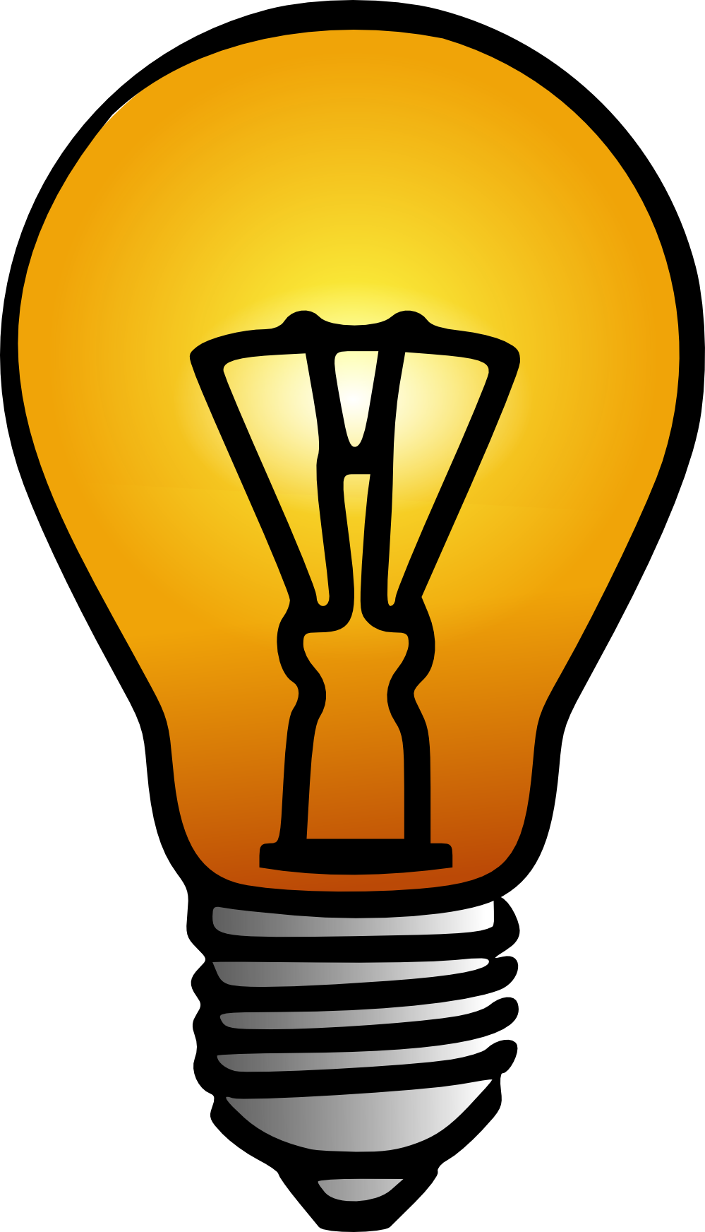 free clipart images light bulb - photo #35