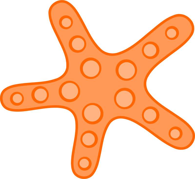 Sea Star Clip Art - ClipArt Best