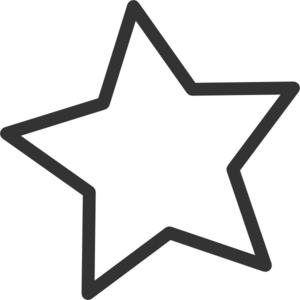 Five Point Star Clipart - ClipArt Best