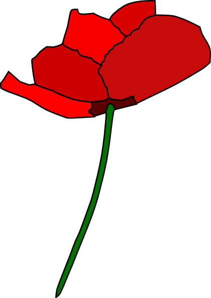 stencil of poppy flower free cliparts that you can download to you ...